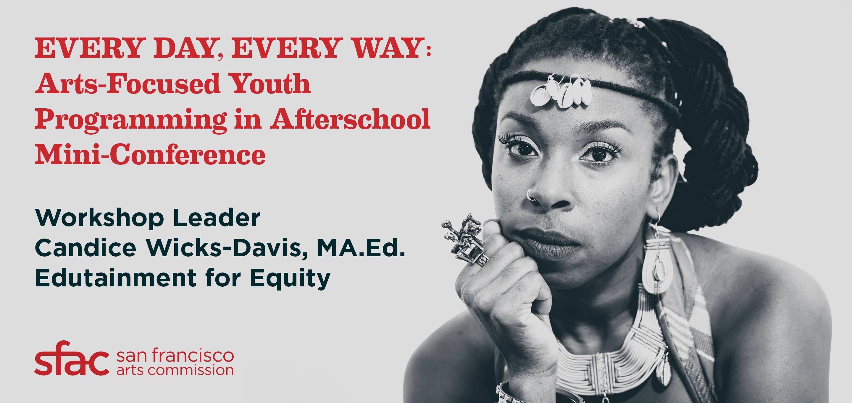 Workshop leader Candice Wicks-Davis, MA.Ed.