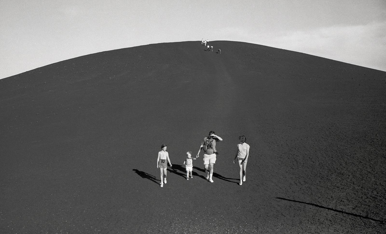 Ingeborg Gerdes, Craters of the Moon, Idaho, 1988.