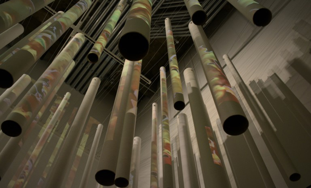 Coalescence, a site-specific art installation at the new SFAC Gallery
