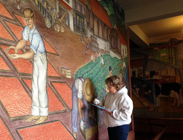 Coit Tower Mural Restoration